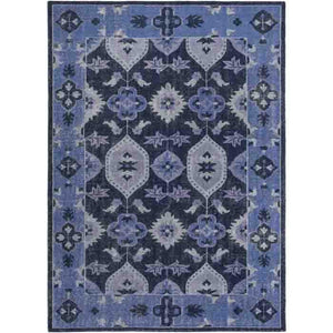 Pazar Wool Rug ~ Blue - Cece & Me - Home and Gifts