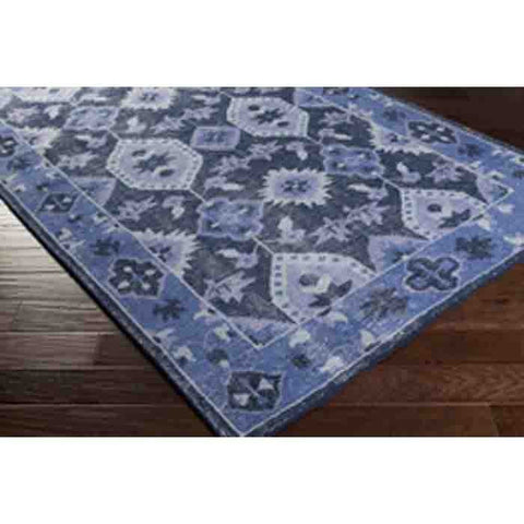 Image of Pazar Wool Rug ~ Blue - Cece & Me - Home and Gifts