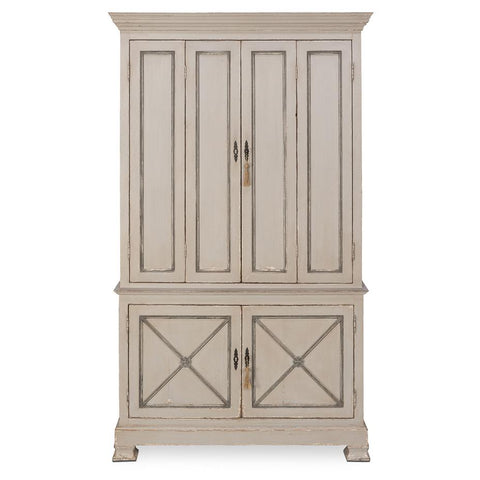 Painted Directoire Style Cabinet - Cece & Me - Home and Gifts