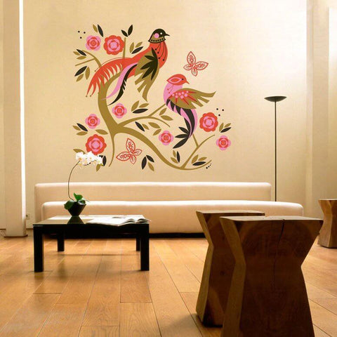 Paisley Pheasant Wall Decal Cut-Outs - Cece & Me - Home and Gifts