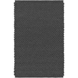 Percy Rug ~ Black - Cece & Me - Home and Gifts