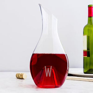 Personalized Aerating Wine Decanter - Cece & Me - Home and Gifts