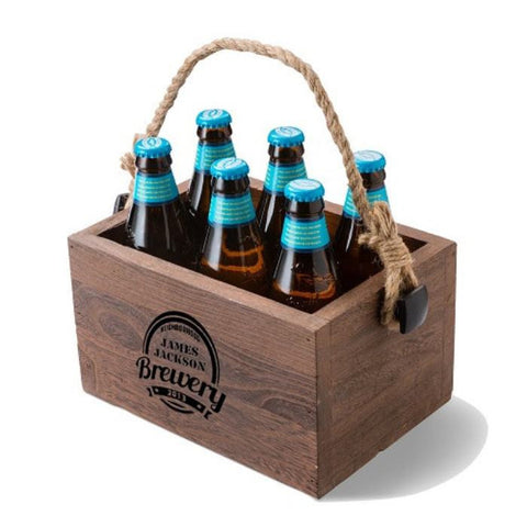 Image of Personalized Beer Caddy - Cece & Me - Home and Gifts