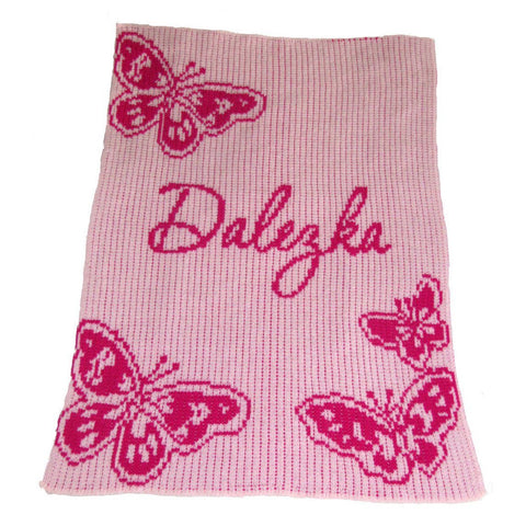 Personalized Butterfly Blanket - Cece & Me - Home and Gifts