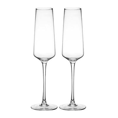 Image of Personalized 9.5 oz. Champagne Estate Glasses - Cece & Me - Home and Gifts