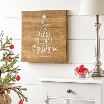 Personalized Christmas Tree Wood Sign - Cece & Me - Home and Gifts