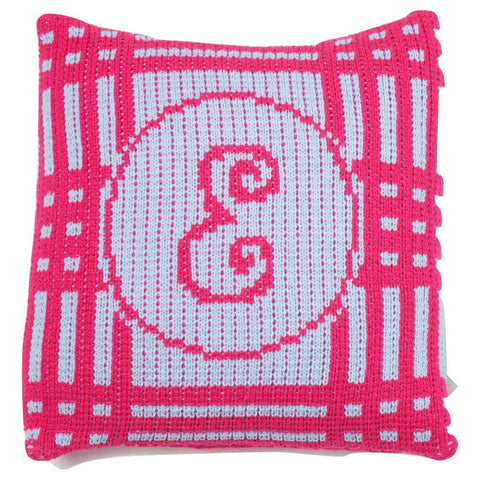 Personalized Crazy for Plaid Pillow - Cece & Me - Home and Gifts