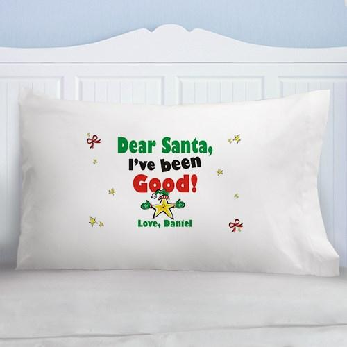 Personalized Dear Santa Pillowcase - Cece & Me - Home and Gifts