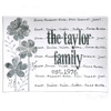 Personalized Flower Family Name Platter ~ Flare - Cece & Me - Home and Gifts