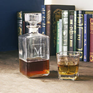Personalized Glass Decanter - Cece & Me - Home and Gifts