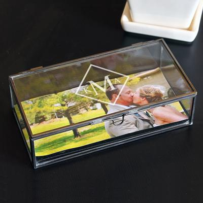 Image of Personalized Glass Shadow Boxes - Cece & Me - Home and Gifts