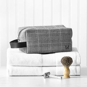 Personalized Glen Plaid Dopp Kit - Cece & Me - Home and Gifts