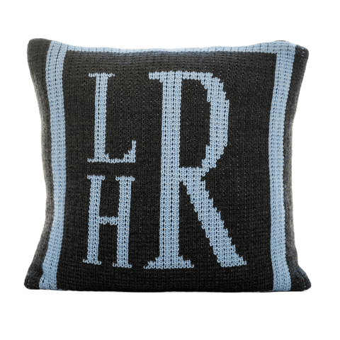 Personalized Initial Stacked Monogram Pillow - Cece & Me - Home and Gifts