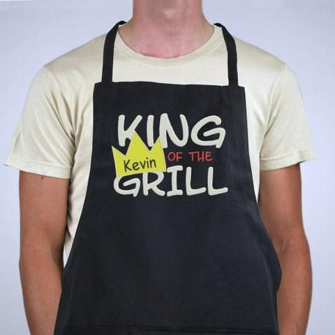 Image of Personalized King Of The Grill Apron - Cece & Me - Home and Gifts
