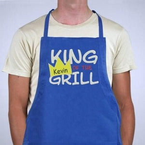 Personalized King Of The Grill Apron - Cece & Me - Home and Gifts