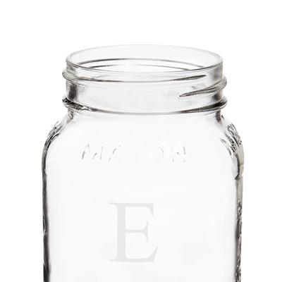 Image of Personalized Mason Jars (Set of 2) - Cece & Me - Home and Gifts