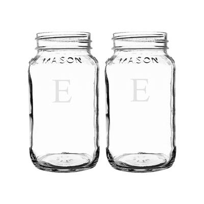 Personalized Mason Jars (Set of 2) - Cece & Me - Home and Gifts