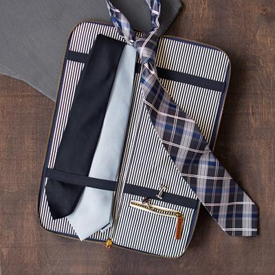 Personalized Men's Travel Tie Case - Cece & Me - Home and Gifts