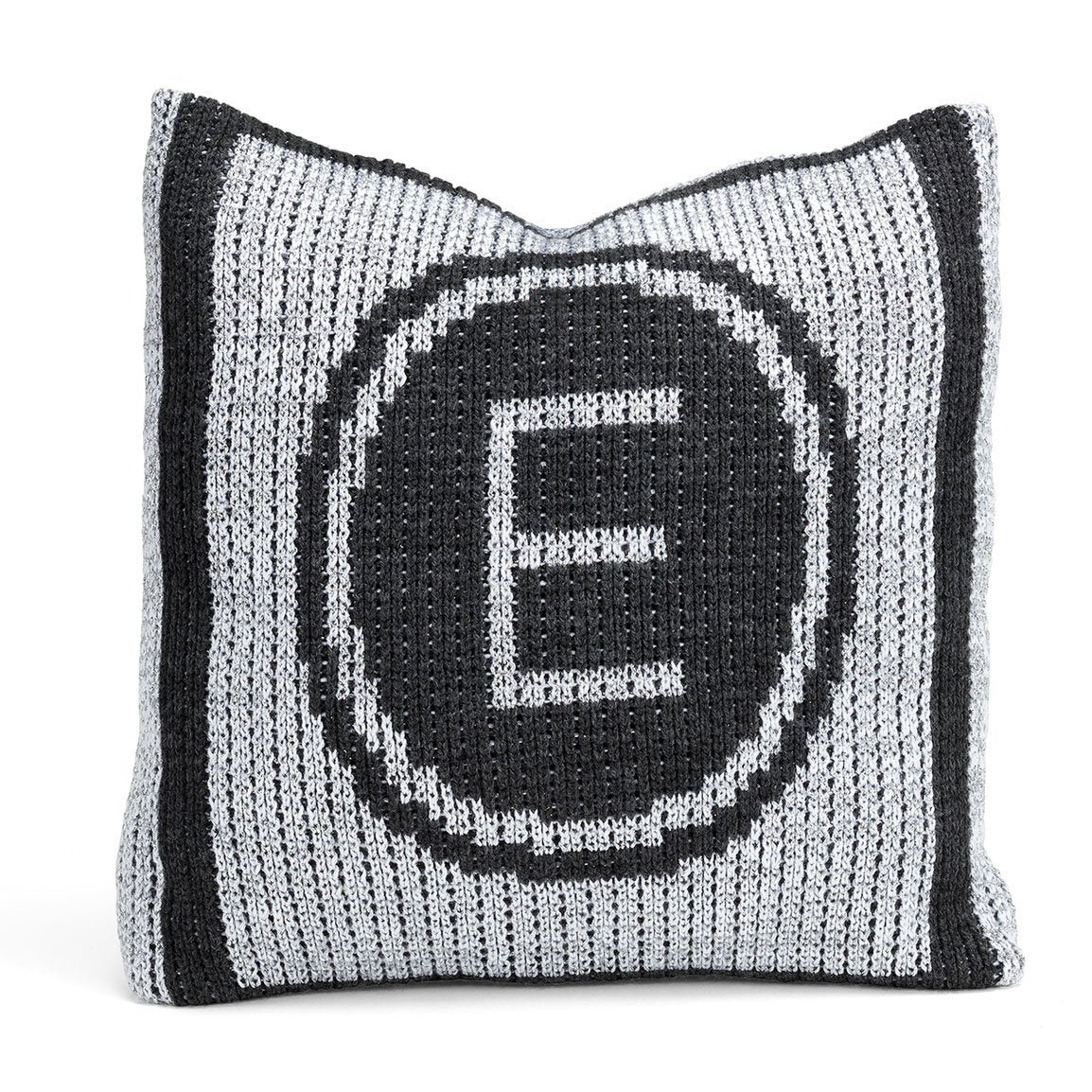 Personalized Metallic Initial Stamp & Name Pillow - Cece & Me - Home and Gifts