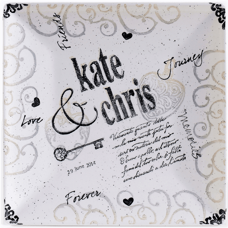 Personalized Name Wedding Charger - Cece & Me - Home and Gifts