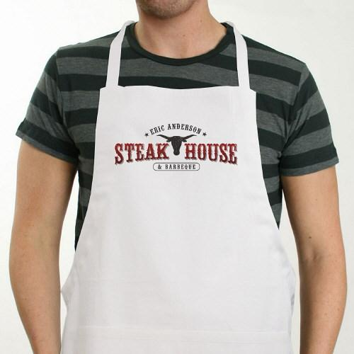 Personalized Steakhouse Apron - Cece & Me - Home and Gifts