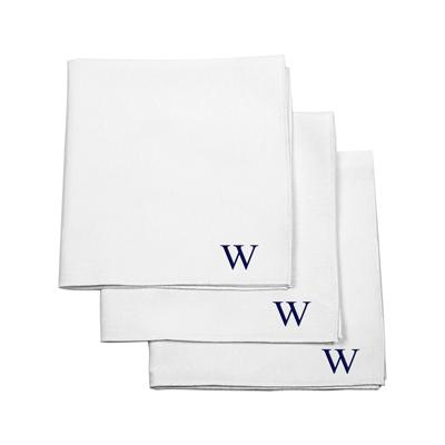 Personalized White Handkerchief Set - Cece & Me - Home and Gifts
