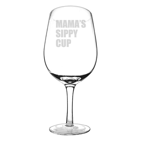 Image of Personalized 25 oz. Novelty XL Wine Glass - Cece & Me - Home and Gifts