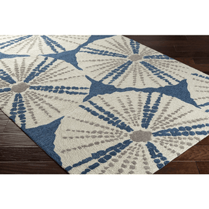 Pescadaro Rug ~ Bright Blue