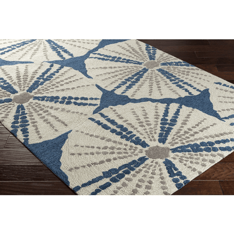 Image of Pescadaro Rug ~ Bright Blue - Cece & Me - Home and Gifts