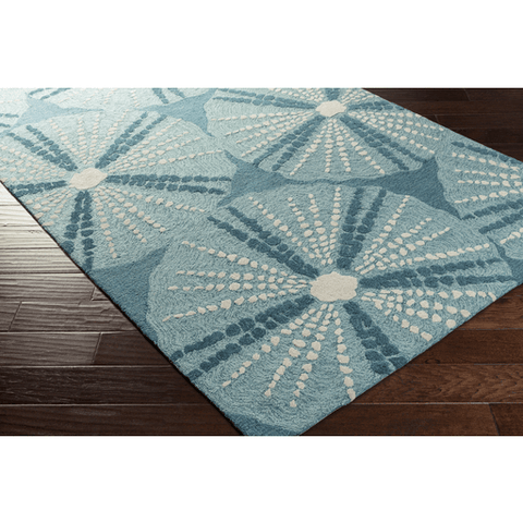 Pescadaro Rug ~ Teal - Cece & Me - Home and Gifts