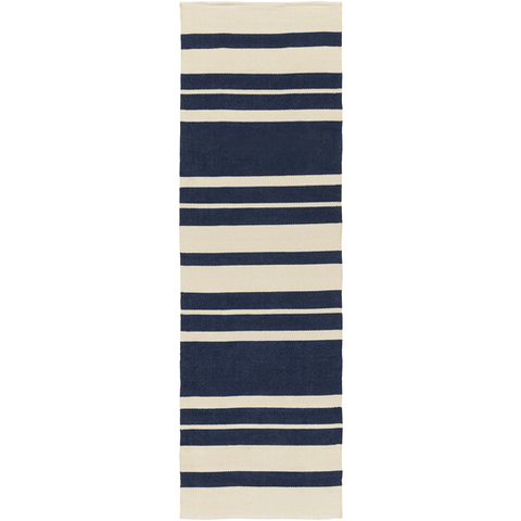 Image of Picnic Rug ~ Navy & Cream - Cece & Me - Home and Gifts