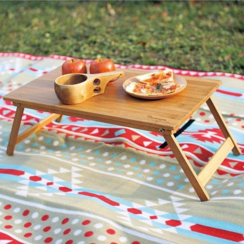 Perfect Foldable Picnic Table Standard - Bamboo - Cece & Me - Home and Gifts