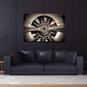 Plane Propeller ~ Tempered Art Glass - Cece & Me - Home and Gifts