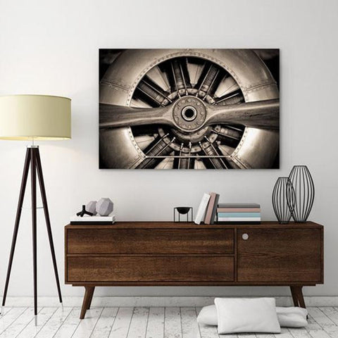 Image of Plane Propeller ~ Tempered Art Glass - Cece & Me - Home and Gifts