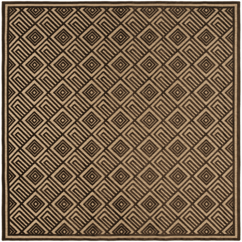 Platt Rug ~ Dark Brown & Tan - Cece & Me - Home and Gifts