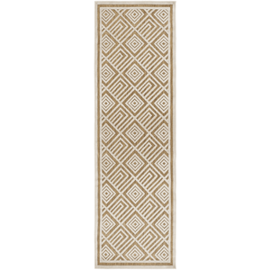 Platt Rug ~ Ivory & Tan - Cece & Me - Home and Gifts