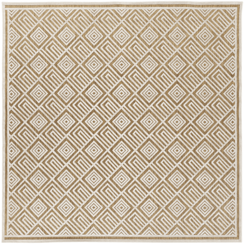 Image of Platt Rug ~ Ivory & Tan - Cece & Me - Home and Gifts