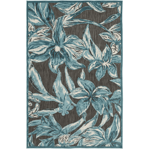 Pleaden Rug ~ Teal/Aqua/Ivory/Black - Cece & Me - Home and Gifts