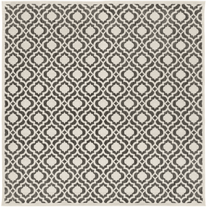 Plessing Outdoor Rug ~ Ivory & Black - Cece & Me - Home and Gifts
