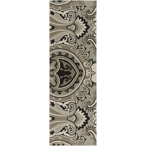Image of Plinck Rug ~ Dark Brown/Black/Ivory - Cece & Me - Home and Gifts