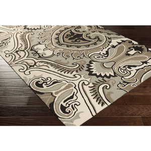 Plinck Rug ~ Dark Brown/Black/Ivory - Cece & Me - Home and Gifts