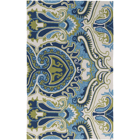 Image of Plinck Rug ~ Lime/Mint/Blue - Cece & Me - Home and Gifts