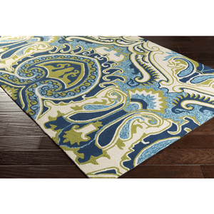 Plinck Rug ~ Lime/Mint/Blue - Cece & Me - Home and Gifts