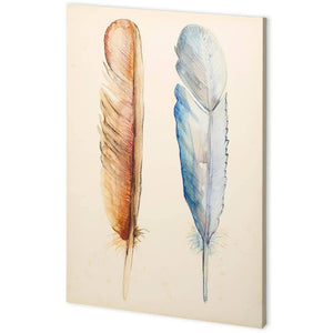 Plumage I Canvas Art - Cece & Me - Home and Gifts