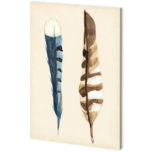 Plumage II Canvas Art - Cece & Me - Home and Gifts
