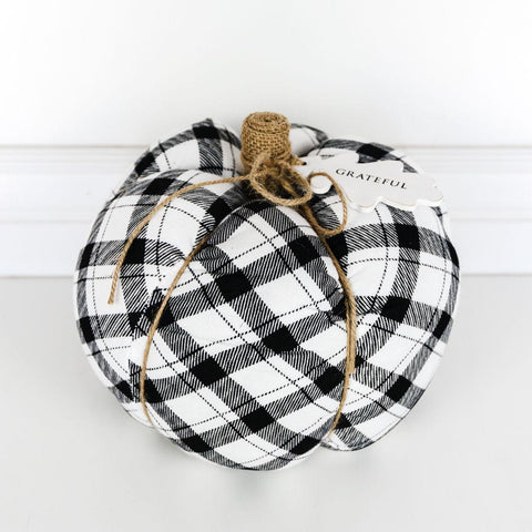 "Puffy Pumpkin Black ~ 9.5"" - Cece & Me - Home and Gifts"