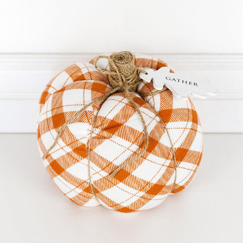 "Puffy Pumpkin Orange ~ 7.25"" - Cece & Me - Home and Gifts"