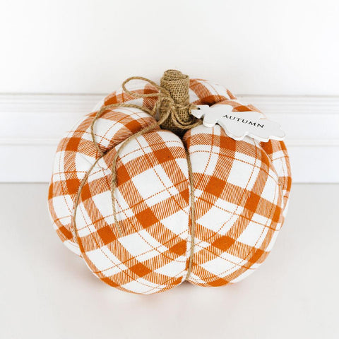 "Puffy Pumpkin Orange ~ 9.5"" - Cece & Me - Home and Gifts"
