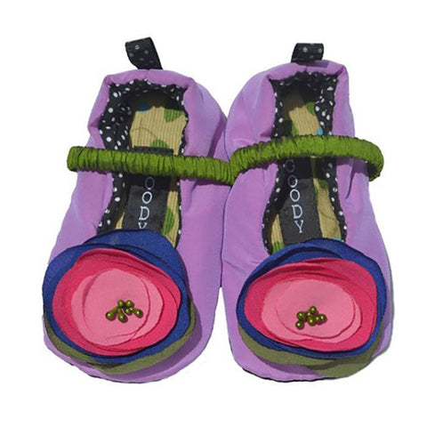 Purple Haze Slippers ~ Infants - Cece & Me - Home and Gifts