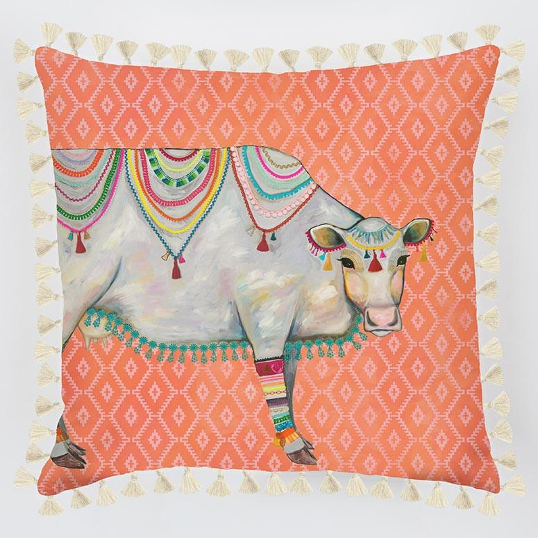 Queen Of The Pasture Pillow - Cece & Me - Home and Gifts